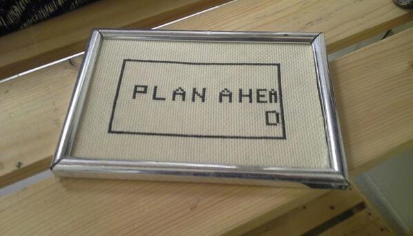 Needlecraft Wisdom via @ThePoke http://t.co/xxwF8e3sNK
