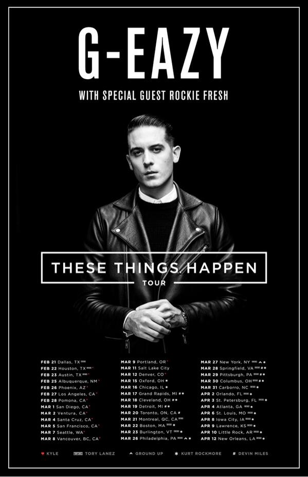 G Eazy On Twitter Miguelascunha Yup Later This Year