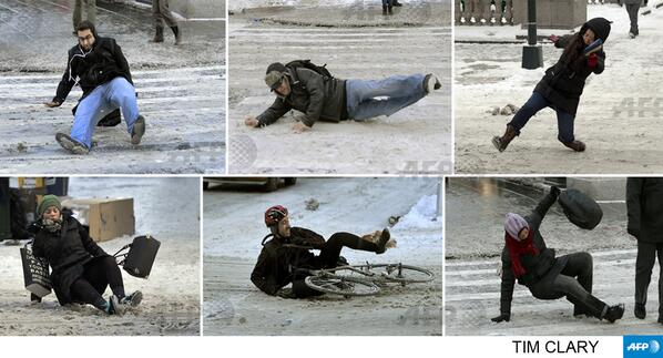 Dear Tim, stop snapping pics--grab a shovel or some salt!!  RT @AFPphoto Today on 5th Ave in New York by Tim Clary http://t.co/AmvwDWlGO9