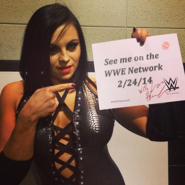 Come see ME on #WWENetwork 2/24/14! #WWE http://t.co/xi561KZRU5