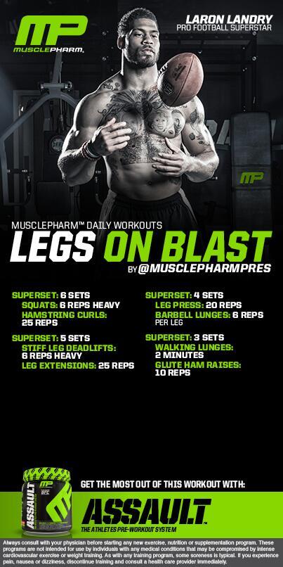 """MusclePharm® on Twitter: """"******Legs on BLAST ..."""