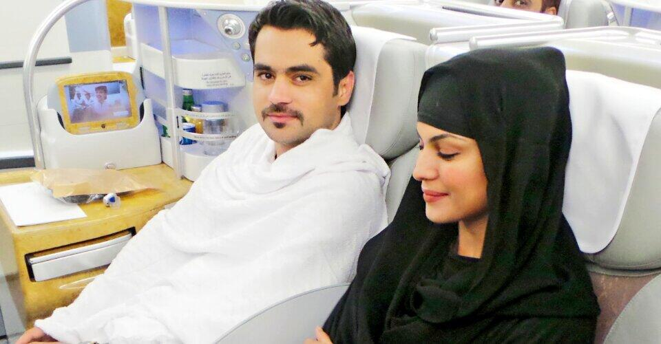 Veena Malik and Husband going for Umrah today