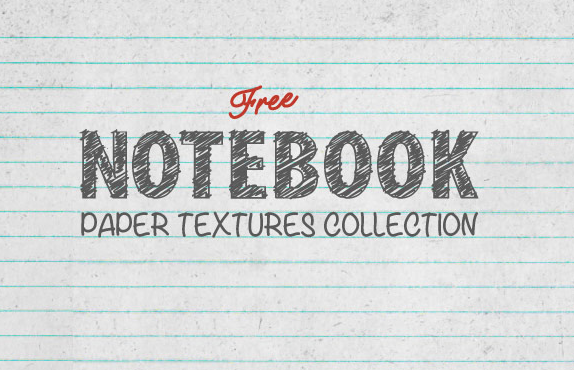 Free notebook paper texture collection http://t.co/aJjvrBhsaL http://t.co/1zQKbx9qFy