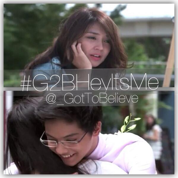 Hashtag tonight: #G2BHeyItsMe! :) #g2b #gottobelieve #g2bnewchapter http://t.co/oJZsZ5OYvW