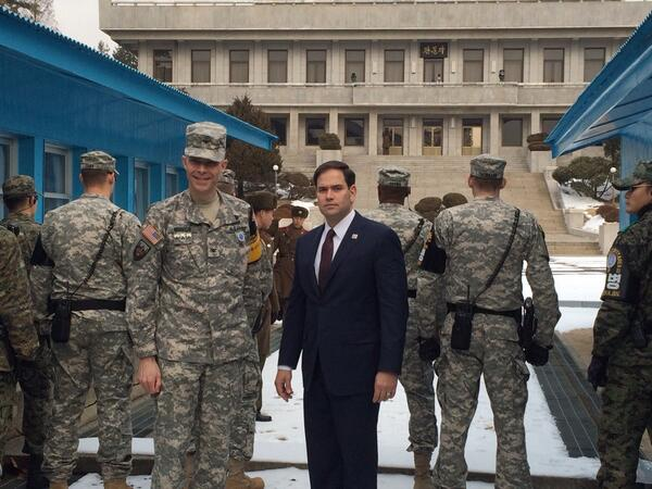 Thumbnail for Marco Rubio Visits the DMZ