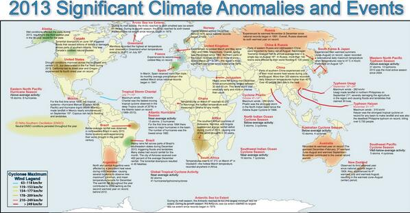 Last year's climate anomalies in one @noaa map. http://t.co/X1NiaVEWfc http://t.co/weUzjTiRI2