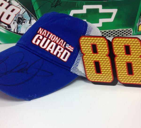 Want an signed @NationalGuard hat new 88 decal? RT to be eligible! After 88 RTs, I'll pick a random winner! http://t.co/m7QzUTAjNf