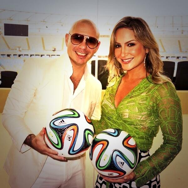 Pitbull, Jennifer Lopez & Claudia Leitte chosen by FIFA to sing official World Cup song