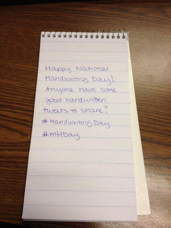 Happy National Handwriting Day! #HandwritingDay #mhday #reportersnotebook http://t.co/jVU2glyjJi