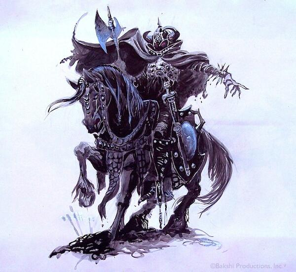 Lord Of The Rings Nazgul Concept Art By Mike Ploog