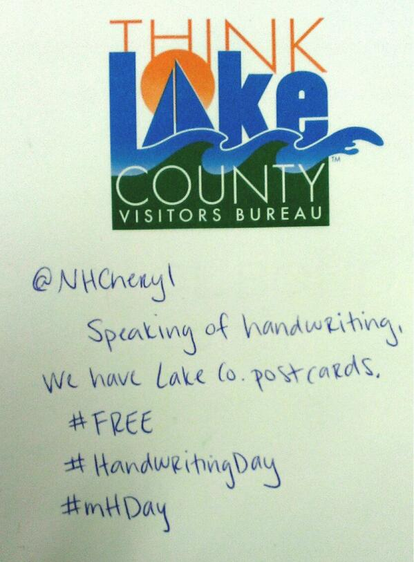 @nhcheryl #HandwritingDay #mHDay http://t.co/DhmFb4i4jW