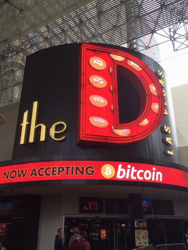 Las Vegas casino, now accepting #bitcoin http://t.co/vVyeP7lvx4