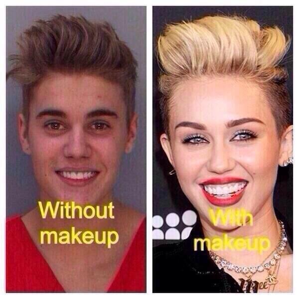 Are #Beiber and #Miley the same person? I'm not sure, discuss.... http://t.co/daMkj51GGL