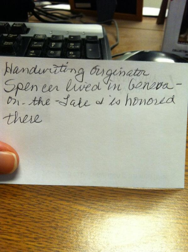 #HandwritingDay #mHDay  who knew? http://t.co/pRqC68Wzbf