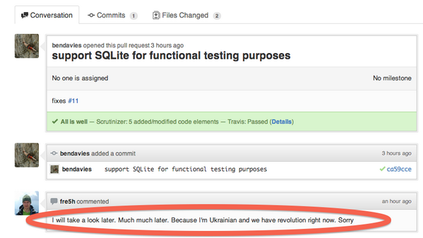 Can't SQL now because Revolution: http://t.co/RMbNfpEfgh