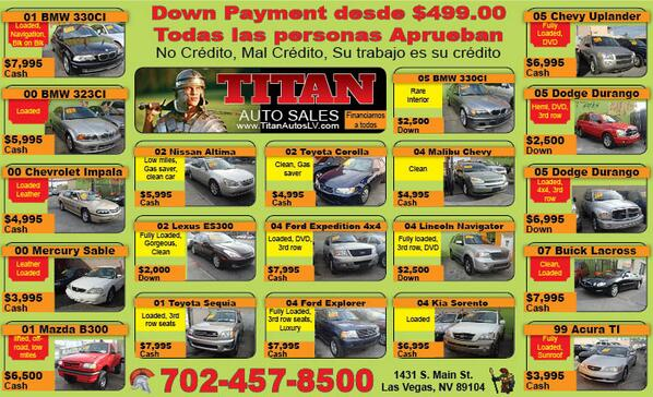 Titan Auto Sales >> Titan Auto Sales 2019 2020 Car Release Date
