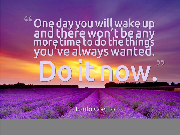 Image result for one day you will wake up quote