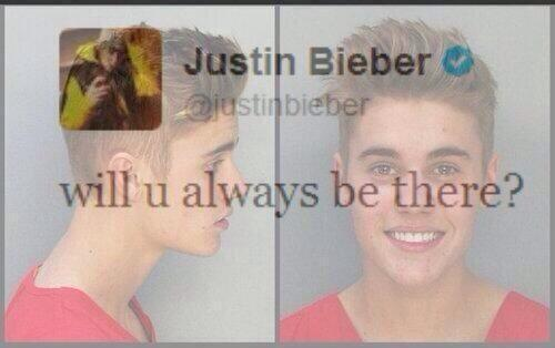 """""""Belieber's who are sill here for @justinbieber are the strongest!  #WeWillAlwaysSupportYouJustin"""" is that u? http://t.co/dpUzX0Vdoh"""