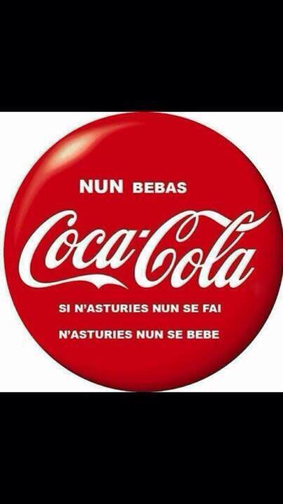 """No bebas coca cola. Si no nos quieren para fabricarla tampoco para beberla"" http://t.co/3n8wqRXGtT"