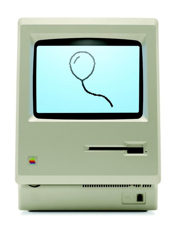 Happy 30th Birthday Mac! #mac30 http://t.co/wjTqcTfauQ