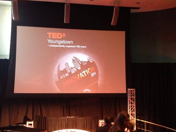Here at @TedxYougstown #TedxYo http://t.co/LlgNAjx5sv