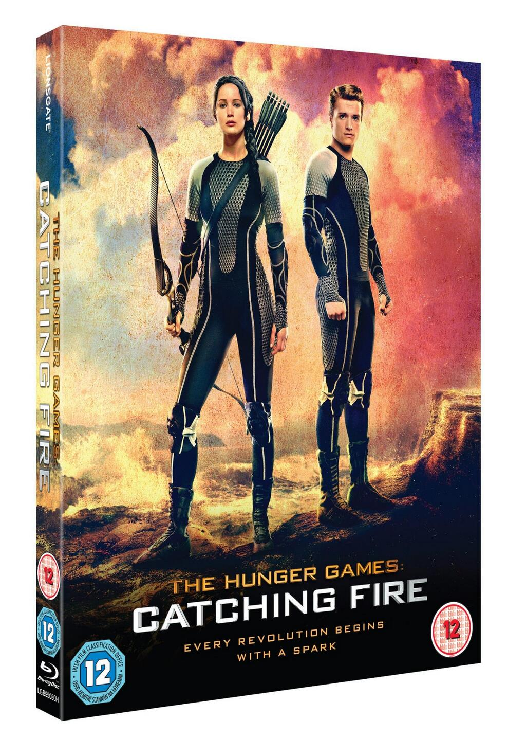 'Catching Fire' DVD/Blu-Ray release date, cover art ...