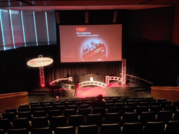 TEDx Youngstown All ready to go! #TEDxYO #YSU http://t.co/93wShBmNuS