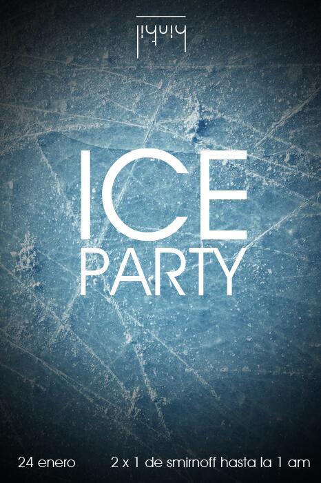 ¡Ice Party te trae un viernes helado para matar el calor! http://t.co/eq90GmNirc