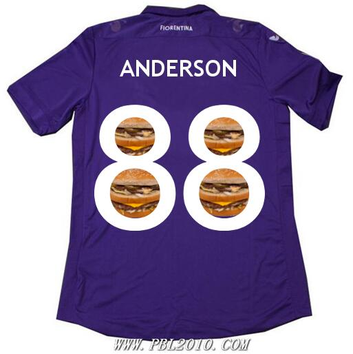 On loan from Man United, Anderson gets the number 88 shirt at Fiorentina [Best Tweets]