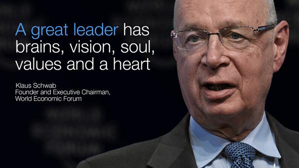 Image result for World Economic Forum Schwab