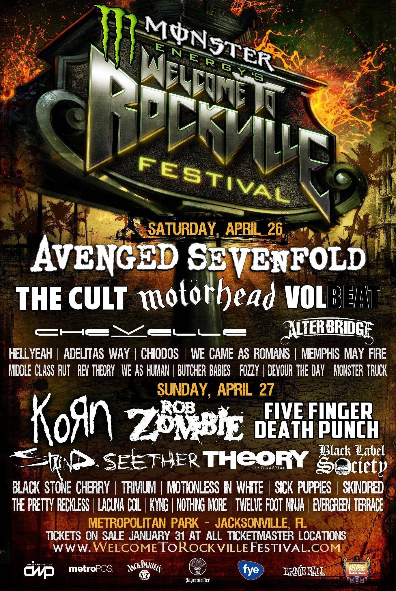 Avenged Sevenfold 2015