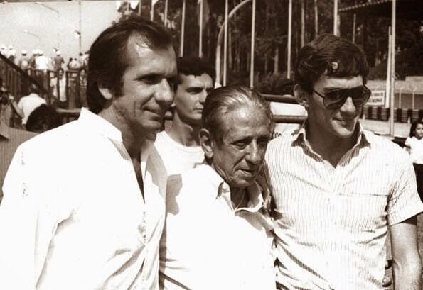 """Amazing! """"@F1_SennaFan: Fantastic photo of three great Brazilians! :) @emmofittipaldi #ChicoLandi #AyrtonSenna http://t.co/GrTgWE0kWR"""""""