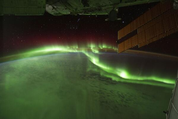 Amazing View of Aurora Borealis from the ISS @NASA http://t.co/LbU75JFX78
