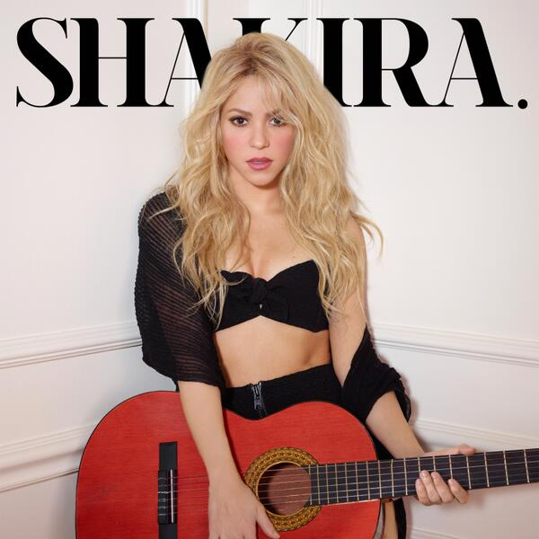 Shakira new album Shakira cover