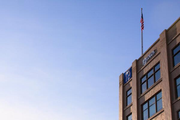 12th Man flag flying high @Logos http://t.co/uXLip5Rx0q
