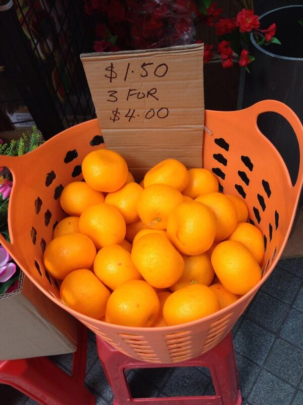 Fake oranges cost more than real ones?! #gongxifacai http://t.co/o0HfMaNRke