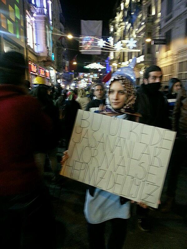 """""""@errdemglr: Bu ülkede yaşananlar normalse hepimiz deliyiz... #taksim #internetimedokunma http://t.co/MIjD8XXKQs"""""""