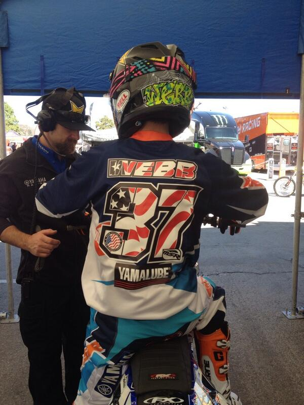 @minicoop175 supporting the troops here in San Diego. @MSRMX @StarYamahaMX @ProTaperUSA http://t.co/smuzVQpmrU