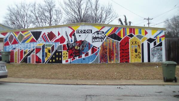 Art on the side of the Midtown Market #cymicro http://t.co/Vfdwr7DQMa
