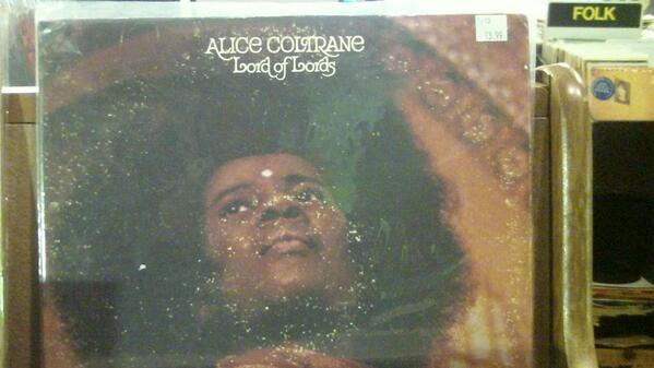 Alice Coltrane vinyl, found at Goner Records #cymicro http://t.co/KuPKOm47Zi