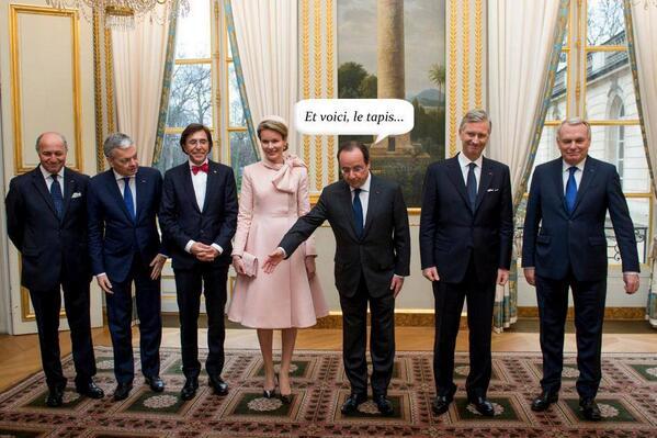 Hahaha. #Hollande #Philippe #Elio<br>http://pic.twitter.com/3QP6RGODuI