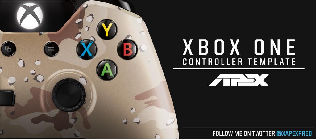 jay west arma on twitter apex xbox one controller template psd