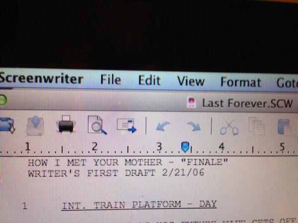 Writing finale. Found this doc on my computer. Look @ the date. No memory of writing it. Wish I could show the rest! http://t.co/cVHcW2ik6h