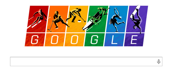 Attention: Google wants us to know that they don't care what the IOC or Russia think. http://t.co/Jn6ONtMVVM
