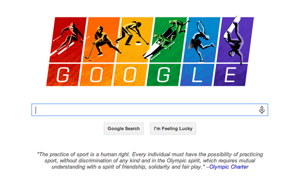Well played @google , well played. #Sochi2014 http://t.co/wgigxOmaVO