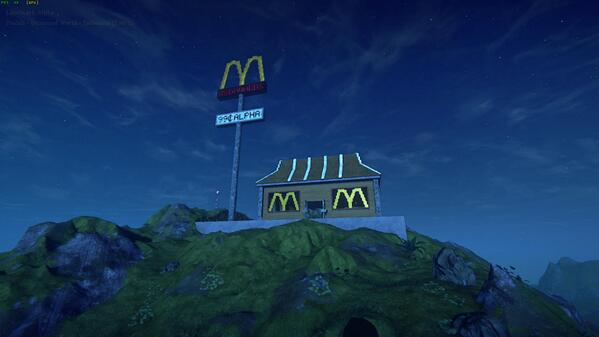 LOL at this McDonalds creation in #Landmark http://t.co/XymyCqvcN1