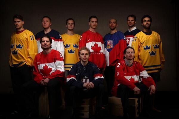 #Blackhawks Olympics-poolza: Super-cool portraits of the 10 headed to Sochi. http://t.co/SleA13R4Gi http://t.co/QAq87gUntT