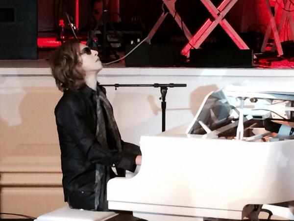 "Yoshiki was impressive. Will try and catch him on his ""classical"" tour http://t.co/QpylkIJcP7"