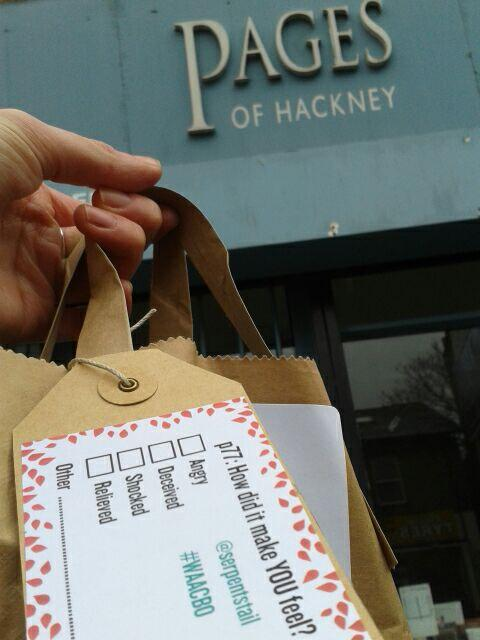 Next stop @pagesofhackney will be getting theirs later! http://t.co/tj2dgOh8nG