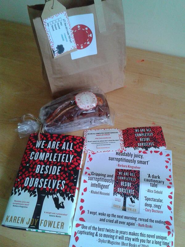Here's a peek at the #WAACBO goody bags that the bookshops are getting this morning... http://t.co/a8IH3BEbBZ